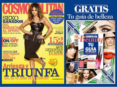 Regalo Revista Cosmopolitan Noviembre 2013