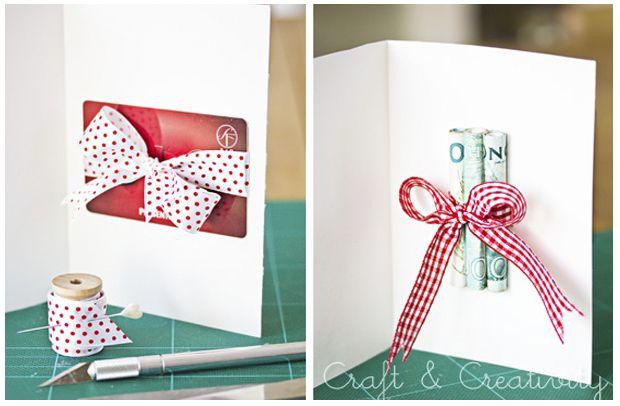 5 ideas originales de regalar dinero en navidad siempre - Ideas originales para navidad ...