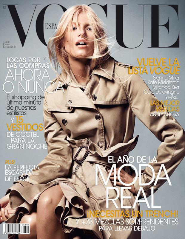 Revista Vogue enero 2014