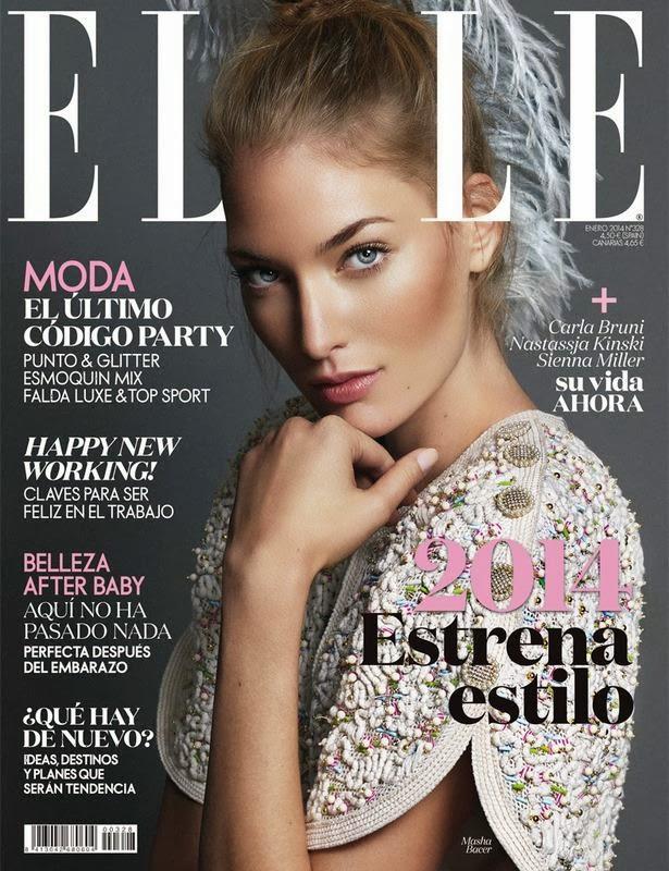 Revista ELLE enero 2014