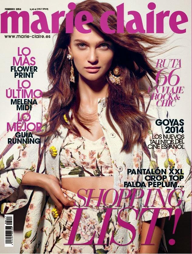 Regalo Revista Marie Claire Febrero 2014