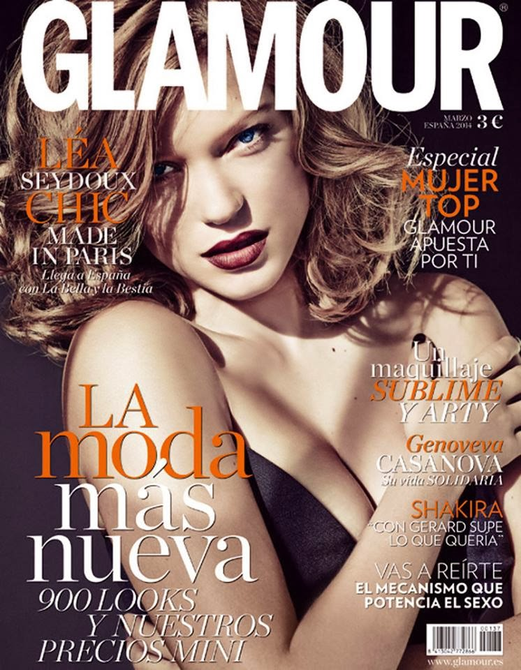 Revista Glamour Marzo