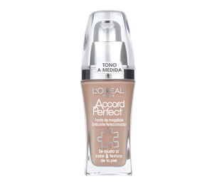 base de maquillaje loreal accord perfect