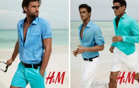 bermudas hombre H&M