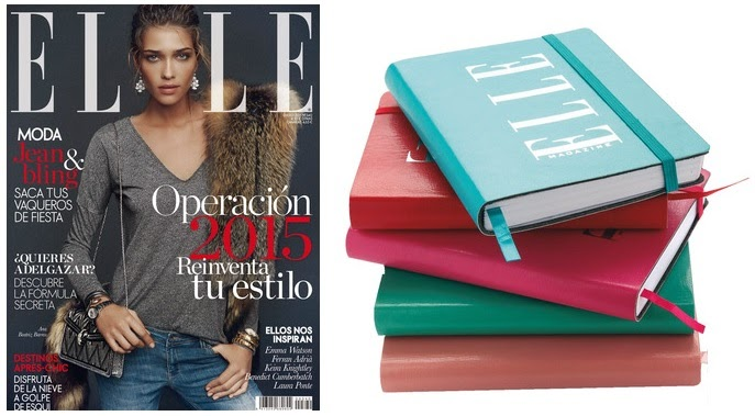 regalo revista enero 2015 elle