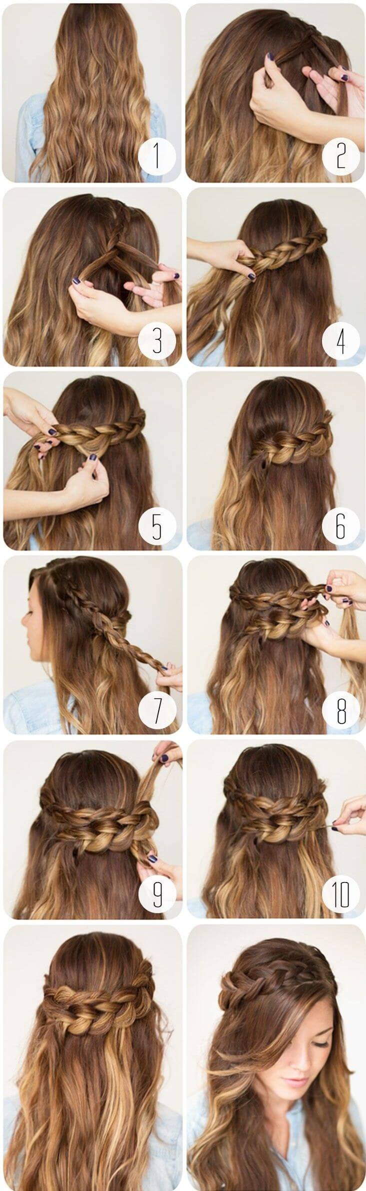 5 peinados faciles con trenzas - Peinados y trenzas ...