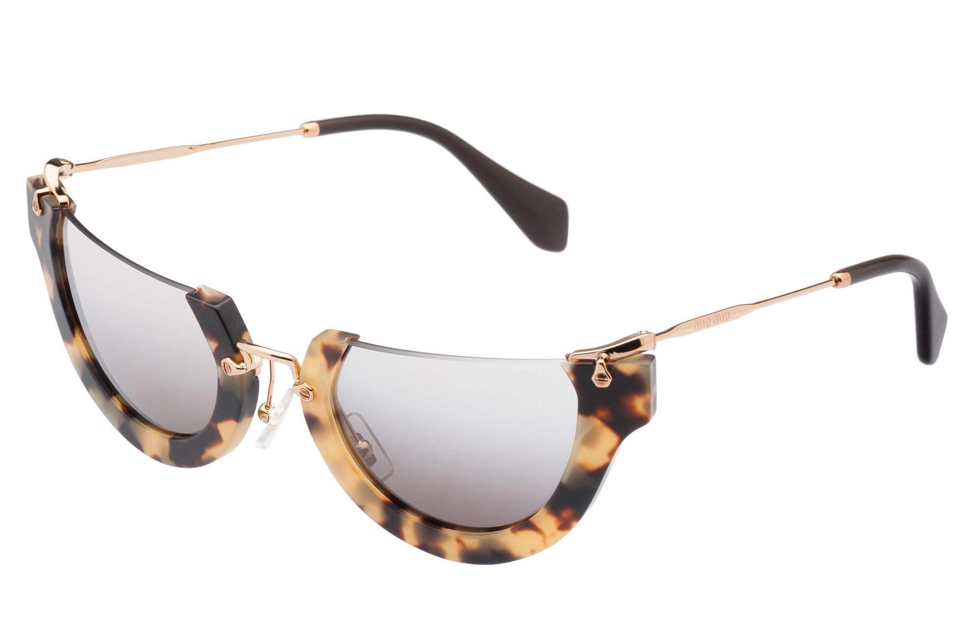 Gafas de sol Miu Miu irregular