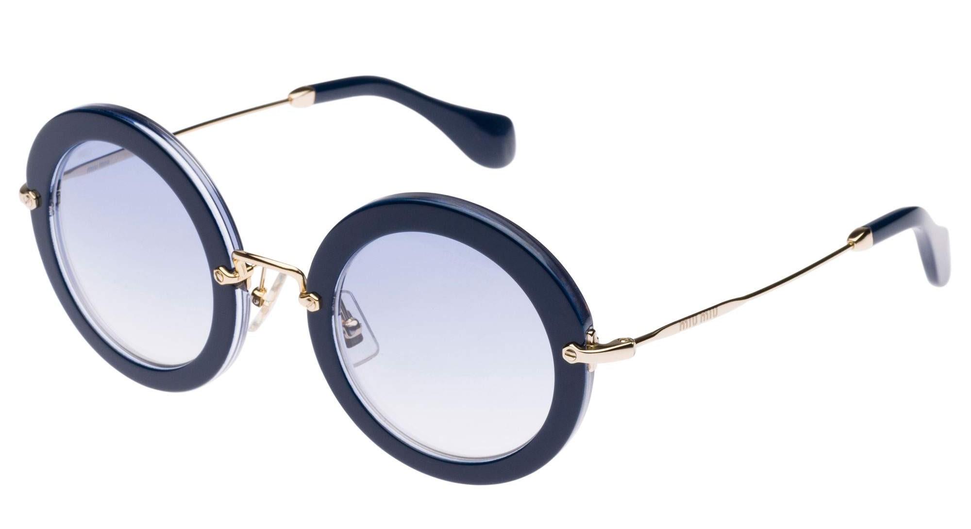 Gafas de sol redondas de Miu Miu