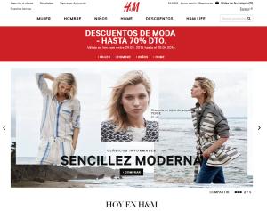 web h&M