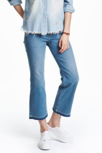 Pantalón kick-flare de H&M